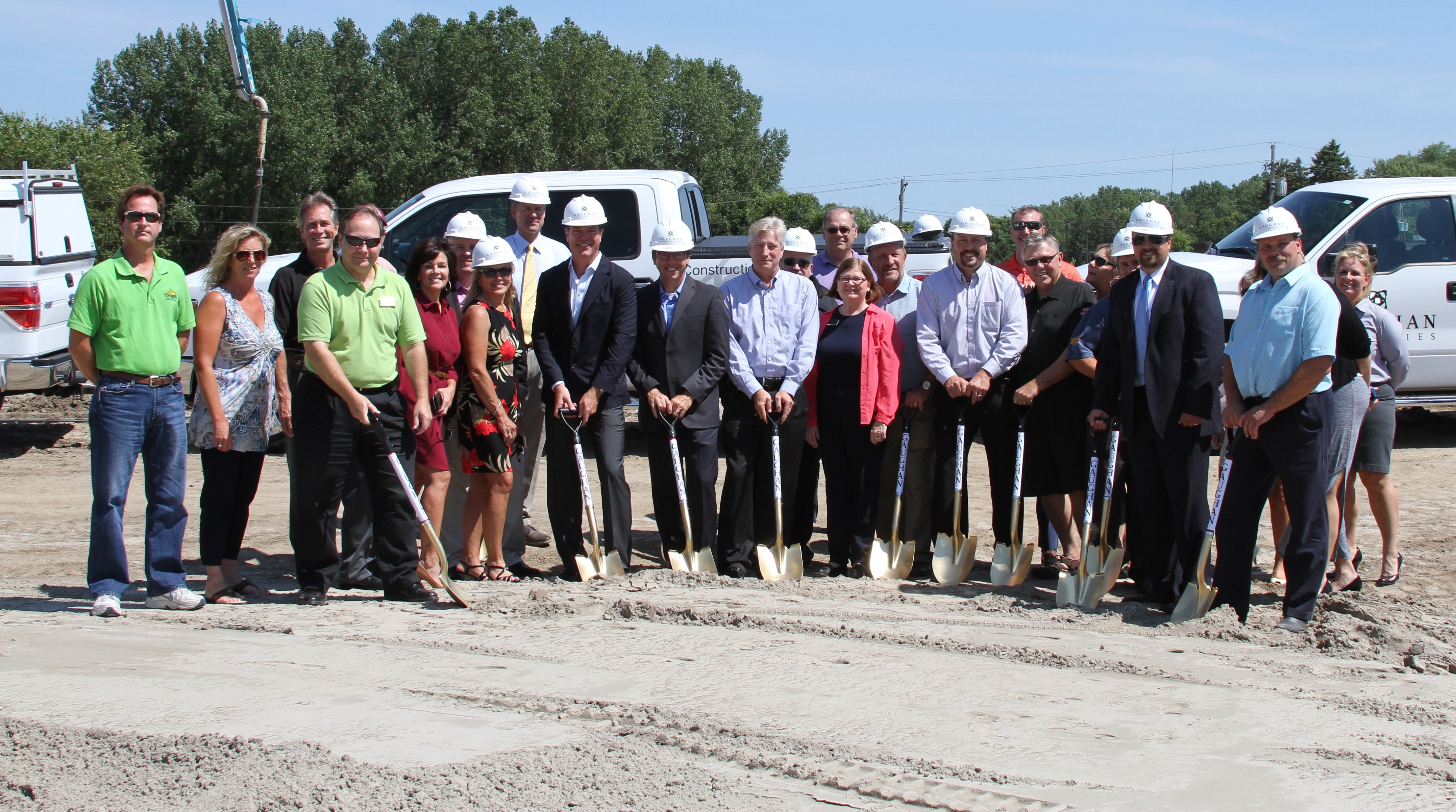Gaughan Construction Celebrates Ground Breaking of City Center Commons Project