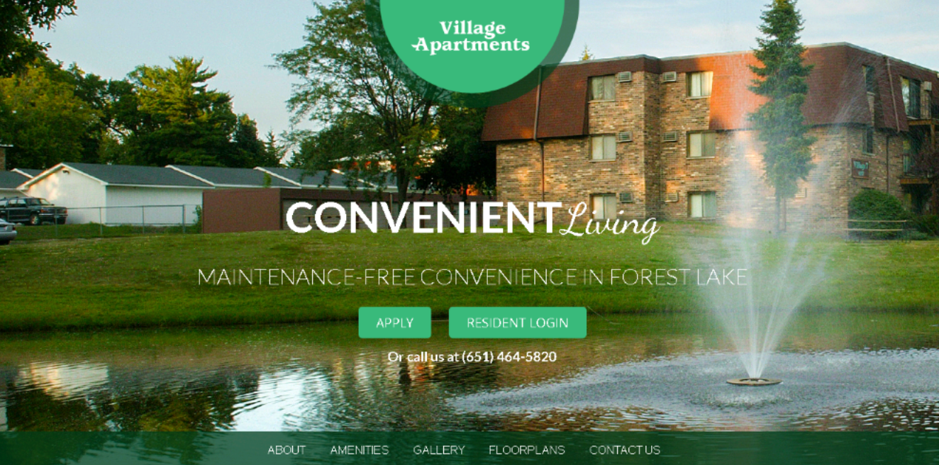 Village Apartments Introduces New Website
